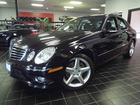 2009 Mercedes-Benz E-Class for sale at SAINT CHARLES MOTORCARS in Saint Charles IL