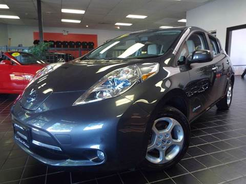2013 Nissan LEAF for sale at SAINT CHARLES MOTORCARS in Saint Charles IL