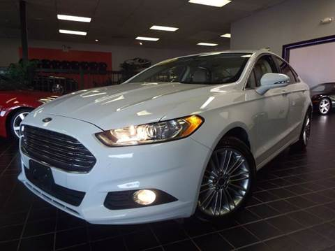 2014 Ford Fusion for sale at SAINT CHARLES MOTORCARS in Saint Charles IL