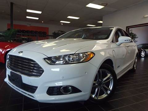 2015 Ford Fusion Energi for sale at SAINT CHARLES MOTORCARS in Saint Charles IL