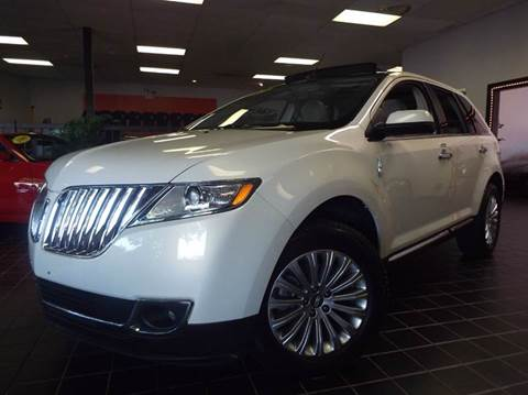 2012 Lincoln MKX for sale at SAINT CHARLES MOTORCARS in Saint Charles IL