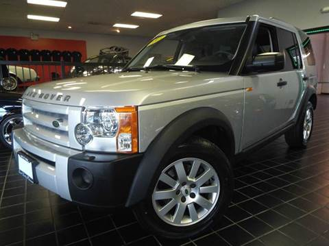 2005 Land Rover LR3 for sale at SAINT CHARLES MOTORCARS in Saint Charles IL