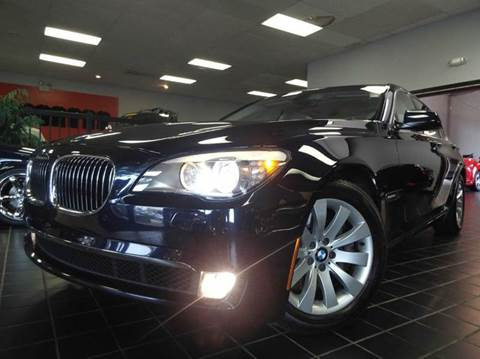 2009 BMW 7 Series for sale at SAINT CHARLES MOTORCARS in Saint Charles IL