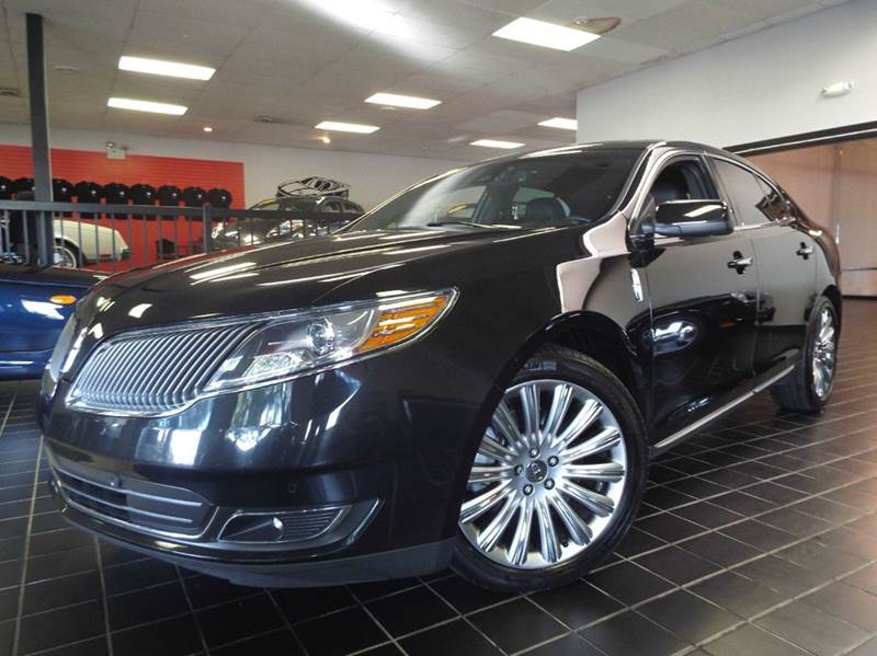2013 Lincoln MKS for sale at SAINT CHARLES MOTORCARS in Saint Charles IL