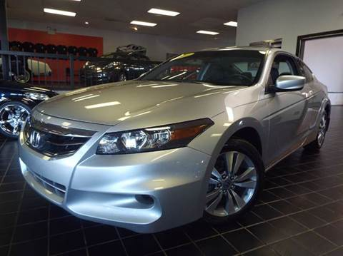 2012 Honda Accord for sale at SAINT CHARLES MOTORCARS in Saint Charles IL