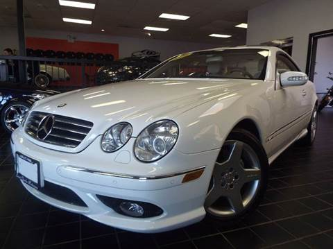 2004 Mercedes-Benz CL-Class for sale at SAINT CHARLES MOTORCARS in Saint Charles IL