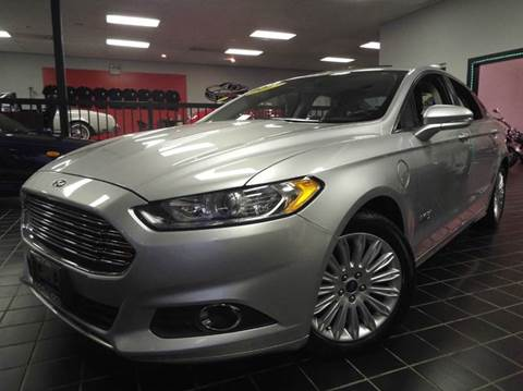 2013 Ford Fusion Energi for sale at SAINT CHARLES MOTORCARS in Saint Charles IL