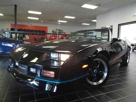 1988 Chevrolet Camaro for sale at SAINT CHARLES MOTORCARS in Saint Charles IL