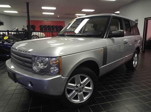2005 Land Rover Range Rover for sale at SAINT CHARLES MOTORCARS in Saint Charles IL