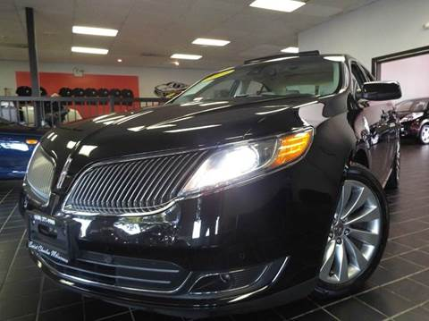 2014 Lincoln MKS for sale at SAINT CHARLES MOTORCARS in Saint Charles IL