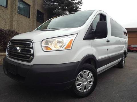 2015 Ford Transit Wagon for sale at SAINT CHARLES MOTORCARS in Saint Charles IL
