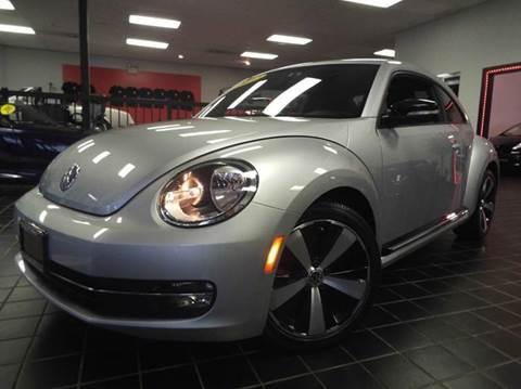 2012 Volkswagen Beetle for sale at SAINT CHARLES MOTORCARS in Saint Charles IL
