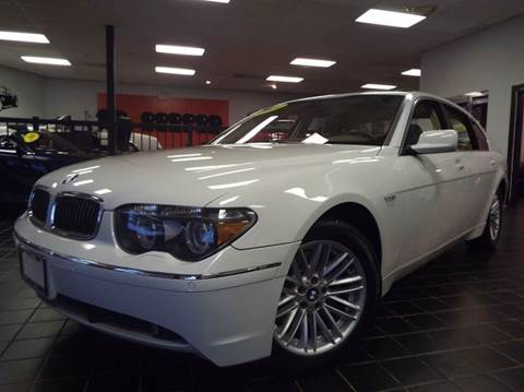 2004 BMW 7 Series for sale at SAINT CHARLES MOTORCARS in Saint Charles IL
