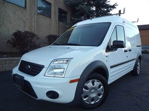2012 Ford Transit Connect for sale at SAINT CHARLES MOTORCARS in Saint Charles IL