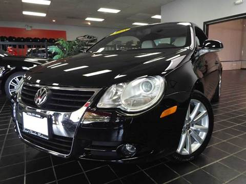 2008 Volkswagen Eos for sale at SAINT CHARLES MOTORCARS in Saint Charles IL