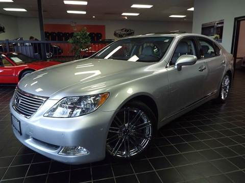 2007 Lexus LS 460 for sale at SAINT CHARLES MOTORCARS in Saint Charles IL