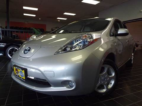 2012 Nissan LEAF for sale at SAINT CHARLES MOTORCARS in Saint Charles IL