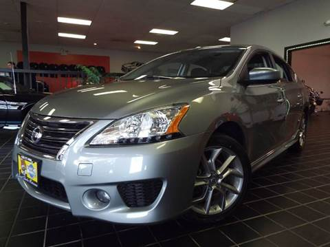 2013 Nissan Sentra for sale at SAINT CHARLES MOTORCARS in Saint Charles IL
