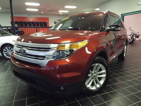 2014 Ford Explorer for sale at SAINT CHARLES MOTORCARS in Saint Charles IL