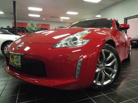 2014 Nissan 370Z for sale at SAINT CHARLES MOTORCARS in Saint Charles IL