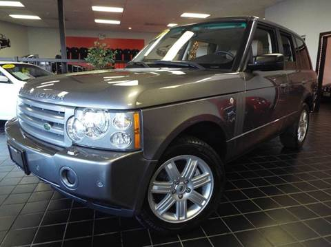 2008 Land Rover Range Rover for sale at SAINT CHARLES MOTORCARS in Saint Charles IL