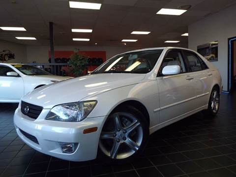 2002 Lexus IS 300 for sale at SAINT CHARLES MOTORCARS in Saint Charles IL