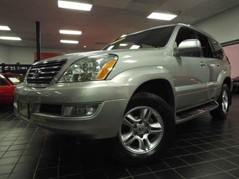 2003 Lexus GX 470 for sale at SAINT CHARLES MOTORCARS in Saint Charles IL