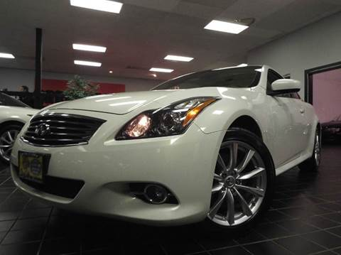 2011 Infiniti G37 Coupe for sale at SAINT CHARLES MOTORCARS in Saint Charles IL