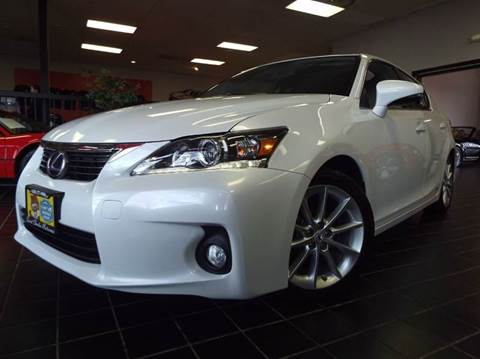 2013 Lexus CT 200h for sale at SAINT CHARLES MOTORCARS in Saint Charles IL