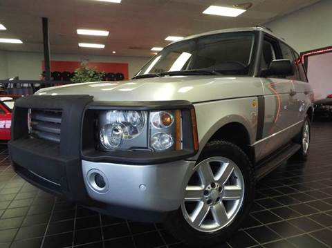 2004 Land Rover Range Rover for sale at SAINT CHARLES MOTORCARS in Saint Charles IL