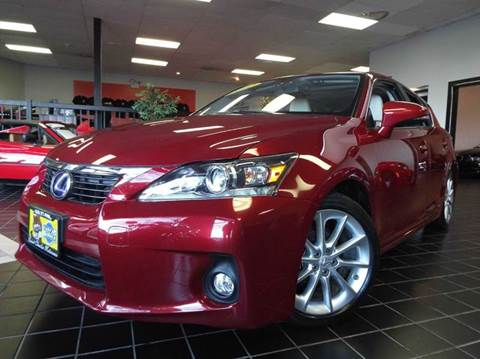 2012 Lexus CT 200h for sale at SAINT CHARLES MOTORCARS in Saint Charles IL