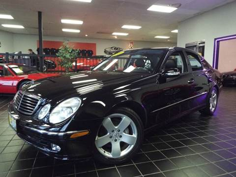 2004 Mercedes-Benz E-Class for sale at SAINT CHARLES MOTORCARS in Saint Charles IL