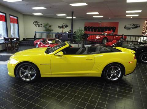 2015 Chevrolet Camaro for sale at SAINT CHARLES MOTORCARS in Saint Charles IL