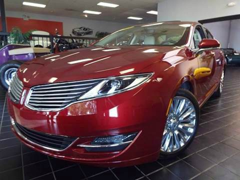 2014 Lincoln MKZ for sale at SAINT CHARLES MOTORCARS in Saint Charles IL