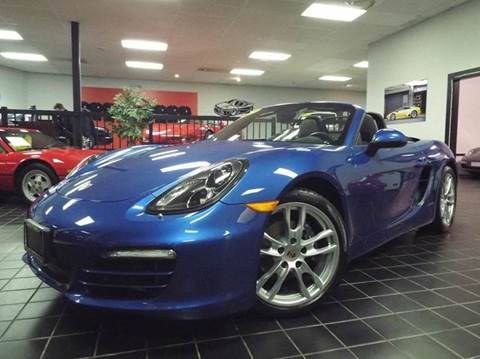 2014 Porsche Boxster for sale at SAINT CHARLES MOTORCARS in Saint Charles IL