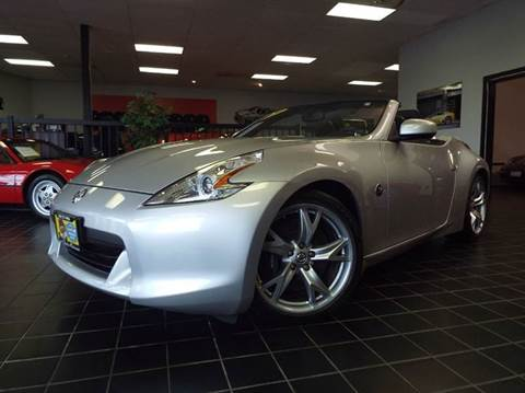 2010 Nissan 370Z for sale at SAINT CHARLES MOTORCARS in Saint Charles IL