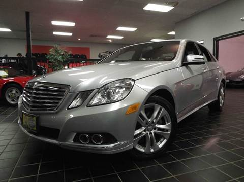 2011 Mercedes-Benz E-Class for sale at SAINT CHARLES MOTORCARS in Saint Charles IL
