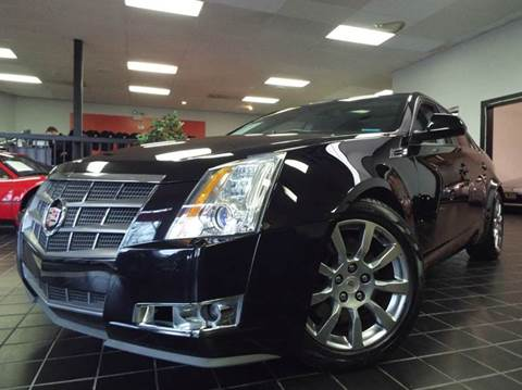 2008 Cadillac CTS for sale at SAINT CHARLES MOTORCARS in Saint Charles IL