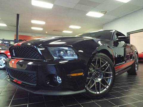 2011 Ford Shelby GT500 for sale at SAINT CHARLES MOTORCARS in Saint Charles IL