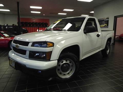 2012 Chevrolet Colorado for sale at SAINT CHARLES MOTORCARS in Saint Charles IL
