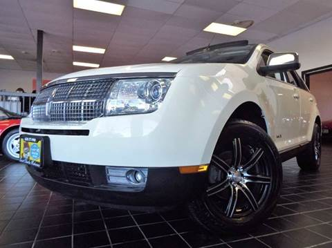 2007 Lincoln MKX for sale at SAINT CHARLES MOTORCARS in Saint Charles IL