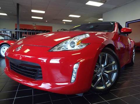 2012 Nissan 370Z for sale at SAINT CHARLES MOTORCARS in Saint Charles IL