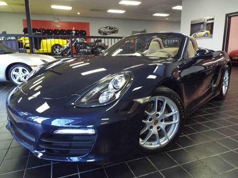 2015 Porsche Boxster for sale at SAINT CHARLES MOTORCARS in Saint Charles IL