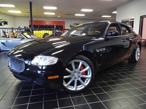 2007 Maserati Quattroporte for sale at SAINT CHARLES MOTORCARS in Saint Charles IL