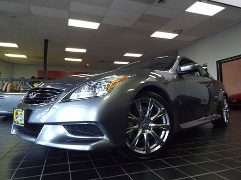 2010 Infiniti G37 Coupe for sale at SAINT CHARLES MOTORCARS in Saint Charles IL