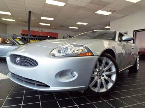 2008 Jaguar XK-Series for sale at SAINT CHARLES MOTORCARS in Saint Charles IL