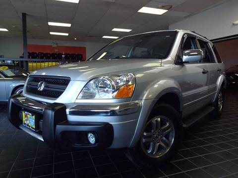 2003 Honda Pilot for sale at SAINT CHARLES MOTORCARS in Saint Charles IL