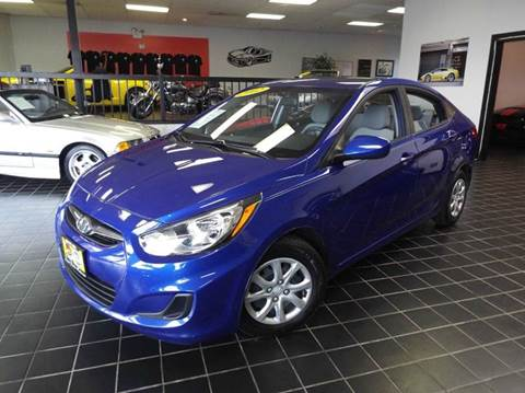 2012 Hyundai Accent for sale at SAINT CHARLES MOTORCARS in Saint Charles IL