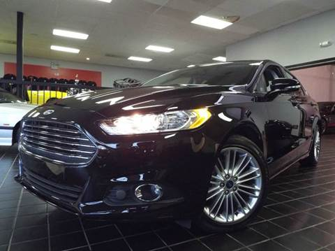 2016 Ford Fusion for sale at SAINT CHARLES MOTORCARS in Saint Charles IL