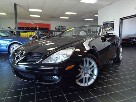 2008 Mercedes-Benz SLK for sale at SAINT CHARLES MOTORCARS in Saint Charles IL